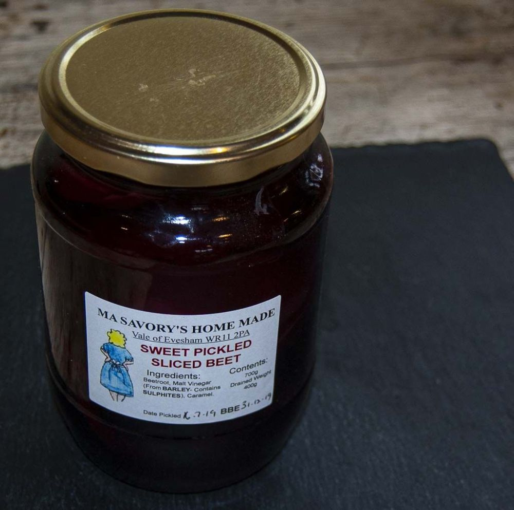 Ma Savory's - Sweet Pickled Sliced Beet - 700g